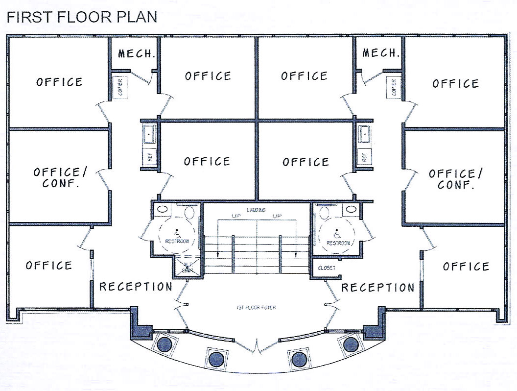 Office building design plans find house plans for Find house floor plans